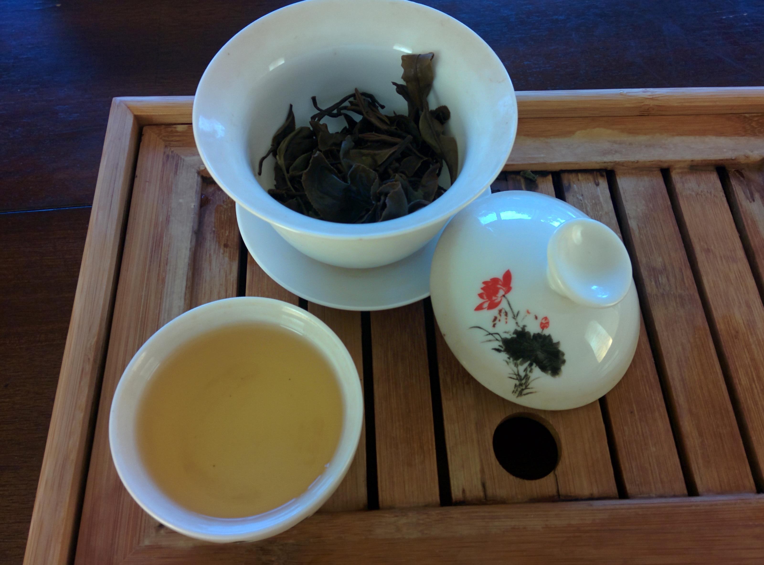 oriental beauty after brewing